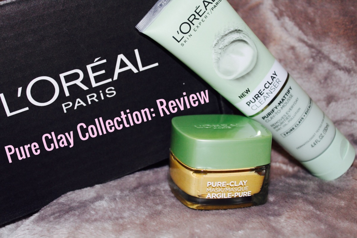 Is It Worth The Buy: L'oreal Paris Pure Clay Collection